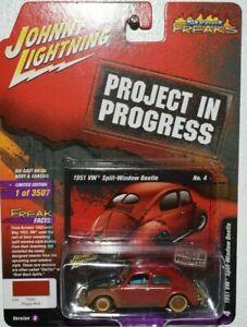JOHNNY LIGHTNING 1951 VW SPLIT WINDOW BEETLE! PROJECT IN PROGRESS<RUBBER TIRES>