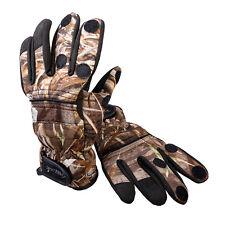 Prologic Max5 Camo Realtree Neoprene Fishing Gloves Choose Size XLarge