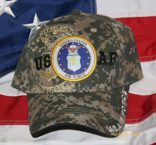 US AIR FORCE DIGITAL CAMOFLAUGE HAT USAF PIN UP AFB GIFT WOWAFH LOGO SHADOW WOW