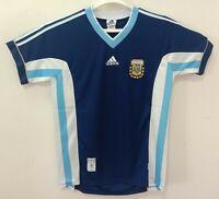 1998 Argentina retro vintage classic soccer football team away t-shirt jersey tw