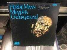 Herbie Mann Memphis Underground LP Atlantic 1969 stereo VG+