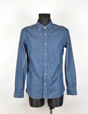 G-Star Type Clean Men Denim Shirt Size M, Genuine
