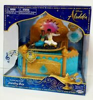 DISNEY ALADDIN A WHOLE NEW WORLD JEWELRY BOX .NEW  JASMINE, ALADDIN MAGIC CARPET