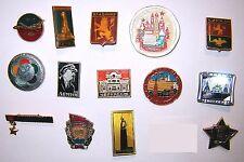 LOT of 14 USSR Communist Socialist pin badges #2