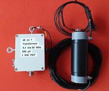 EFHW -  80/40/20/17/15/10 m  1 KW PEP