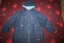 Regenanzug Matschanzug Regen-Matschjacke Regenjacke Gr.110 von ORCHESIRA blau