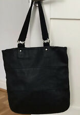 Ally Capellino For whistles Black Leather Tote / Shopping Bag