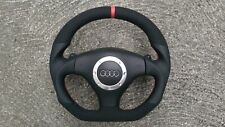 AUDI TT MK1 3.2 S6 RS6 C5 S3 RS3 DSG NEW CUSTOM MADE FLAT BOTTOM STEERING WHEEL