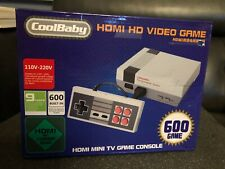 CoolBaby NES Nintendo HDMI 600 Games New In Box
