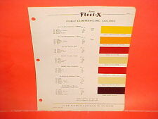 1936-1954 FORD PICKUP TRUCK PANEL SEDAN DELIVERY STAKE PLATFORM PAINT CHIPS