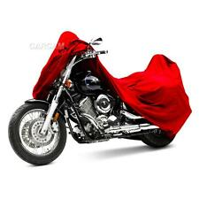 Red Motorcycle Storage Cover For Honda CB 125 400 450 650 700 750 900 Nighthawk