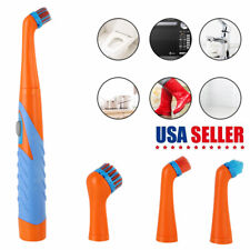 Super Sonic Electric Scrubber Cleaning Brush Bathtub Tile Household All Purpose
