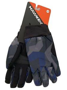 Hawke & Co. Mid Weight Field Nylon Gloves L/XL Fractal Camo #