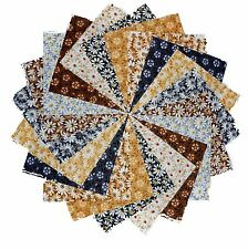 """40 5"""" Quilting Fabric Squares Shades Of Neutral 3 Gorgeous!!"""