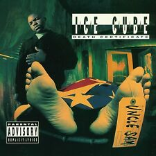 ICE CUBE - DEATH CERTIFICATE  CD NEW+