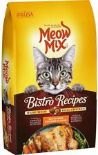 Meow Mix Bistro Recipes Dry Cat Food Rotisserie Chicken 17 lb Bag