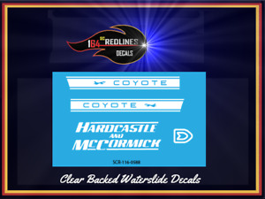 1/16 'Coyote X Hardcastle and McCormick' Decal SCR-116-0558