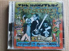 New listing The Hamsters - Pet Sounds (Ten Years of Rodent Rock Cd 1998 2-Disc Set )