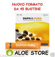 ZUCCARI 1x PAPAYA PURA 45 bustine Bio-Fermentata - Antiossidante ed Energizzante