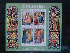 ANTIGUA '1975 **MNH BF23 YT 4,50 EUR FAMOUS PAINTINGS,PEINTRES CELEBRES,TABLEAUX