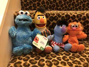 Sesame Street Plush Lot