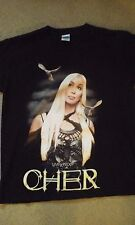 Cher Living Proof 2002 Farewell concert tour shirt used L