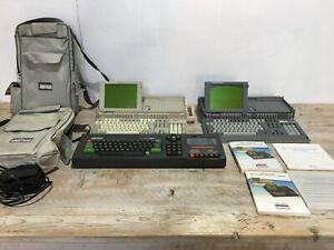 Vintage Amstrad Gaming Computer Bundle CPC 464, PPC 512, PPC 640 Manuals & Cases