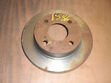Front Ford EXP Escort Tempo Mercury LN7 Lynx Topaz Disc Brake Rotor New