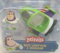 Toy Story 4 - Disney Pixar - Minis Buzz Lightyear & Spaceship Figure Collectible