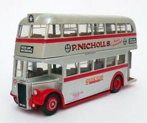 EFE 1/76 Scale 31101 - Leyland PD2 Double Deck Bus - Silver
