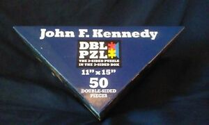 Double Puzzle John.F. Kennedy. 50pc