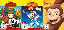 3 DVDs * COCO DER NEUGIERIGE AFFE - SET FILM +TV SERIE # NEU OVP +