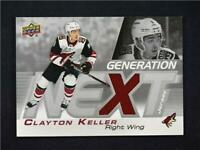 2019-20 Upper Deck Series 1 Generation Next Jersey Relic #GN-19 Clayton Keller