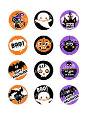 HALLOWEEN Edible Cupcake Image Frosting Sheet Cookie Toppers CUSTOMIZABLE!