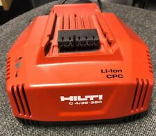 New Hilti C 4/36-350 Fast Li-Ion battery charger unused