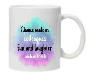 FRIENDS MUG gift FUNNY! Ideal unique GIFT FOR A WORK FRIEND