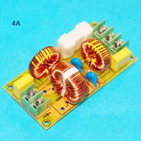 1pcs EMI Electromagnetic Interference Filter Module AC power filter DIY Kit 4A