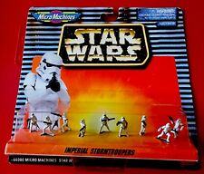 Galoob Star Wars Micro Machines Imperial Stormtroopers 1996 NEW ON CARD