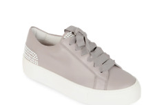 Agl platform taupe pearl studded sneakers sz 38 (7.5) Excellent from Nordstrom
