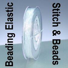 Alambre de nylon abalorios Stretch Cordón Elástico Pulsera de hilo 0.25mm 10M Fuerte Claro