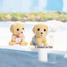 Calico Critters - Yellow Labrador Dog Twins Set CC2019