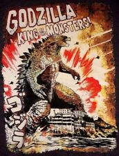 Godzilla Japan King Of The Monsters T-Shirt Size M Chest 39 - 41 inch