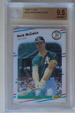 1988 Fleer MARK MCGWIRE #286 BGS 9.5 GEM MINT SEE PHOTO Athletics A's Cardinals