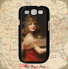 VINTAGE ROMANTIC GIRL DESIGN CASE COVER FOR SAMSUNG GALAXY S3 -ftg4Z