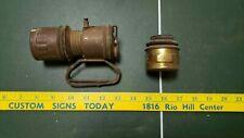 Vintage miner's carbide lamp
