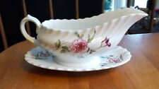 ROYAL DOULTON - Clovelly - GRAVY WITH UNDER PLATE