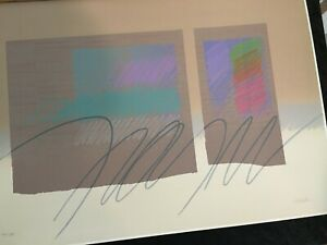 """Fine Art Print (2) Hand Signed Sullivan, Limited Edition Diptych """"Streamers"""""""
