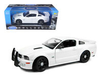 2007 Saleen Ford Mustang S281E Unmarked Police Car 1:18 Model - Welly 12569WEWP*