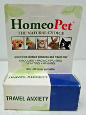 New HomeoPet Travel Anxiety 15 ml ~Homeopathic Remedy~ for Dogs Cats and Birds