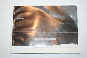 RENAULT LAGUNA  MK3 OWNERS MANUAL HANDBOOK, 2007 - 2010, PRINT DATE 03/2007
